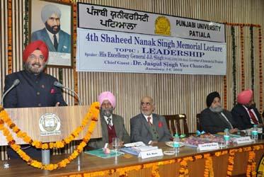 H.E. GEN J J Singh
