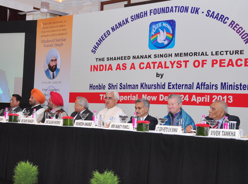 Dignitaries on the dais