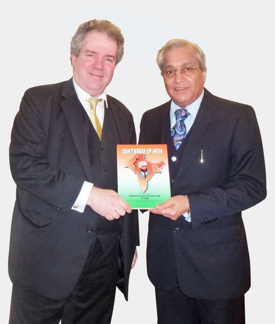 Dr Rami Ranger with Dr Charles Tannock