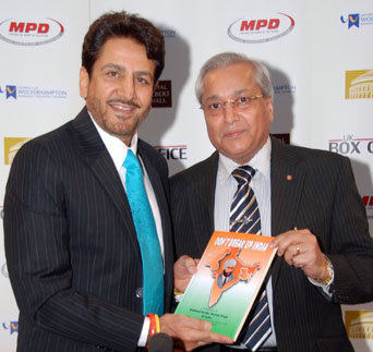 Dr. Ranger with Dr. Gurdas Maan